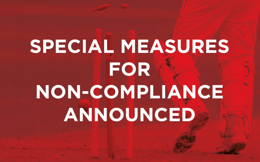 Special Measures for Non-Compliance